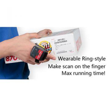 เครื่องอ่านบาร์โค้ด (Barcode Scanner) Generalscan R1000BT Pro