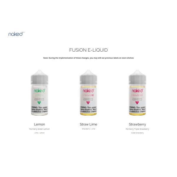 USA Naked 100 Fusion by The Schwartz Eliquid 60ML (70%VG)