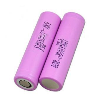 Authentic Samsung 18650 30Q 3.6V 3000mAh Rechargeable Li-ion Battery