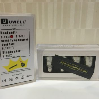 Uwell Crown Dual 0.25 / 0.5 ohm coil head