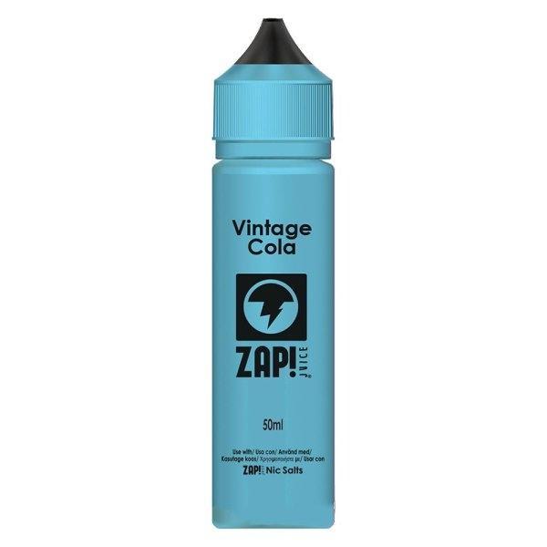 น้ำยาบุหรี่ไฟฟ้า Vintage Cola 3mg 60ml BY ZAP JUICE! UK