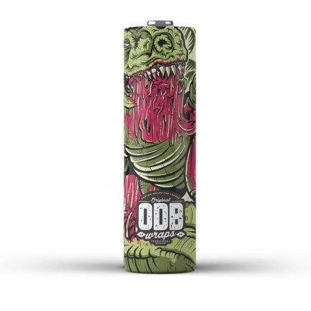 18650 Dino V2 ODB Wraps x 4 Pack
