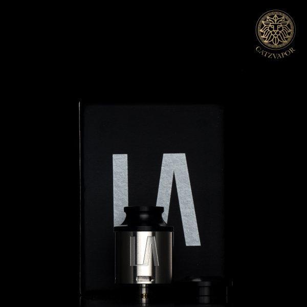 อะตอมบุหรี่ไฟฟ้า Aria x  Mvrket LA RDA BY Aria Built Black PVD