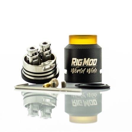 อะตอมบุหรี่ไฟฟ้า MODEL41 BF RDA BY RIG MOD USA