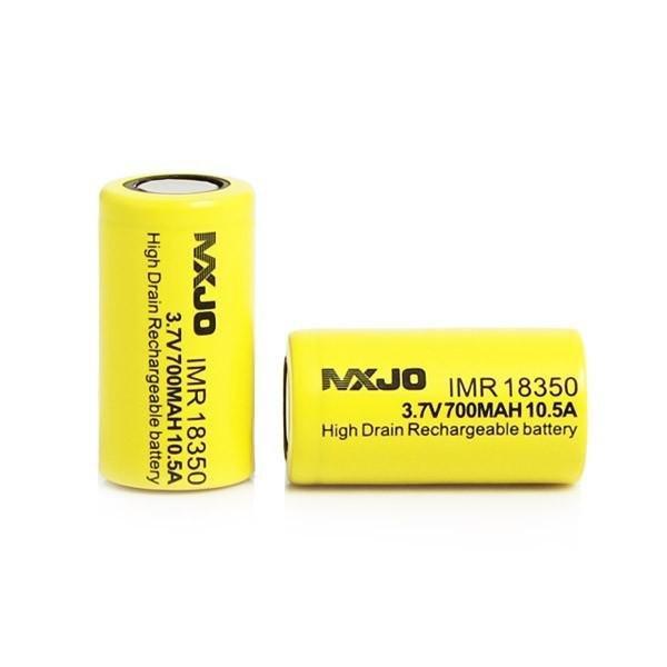 ถ่านบุหรี่ไฟฟ้า MXJO 18350 700mAh 10.5A Battery