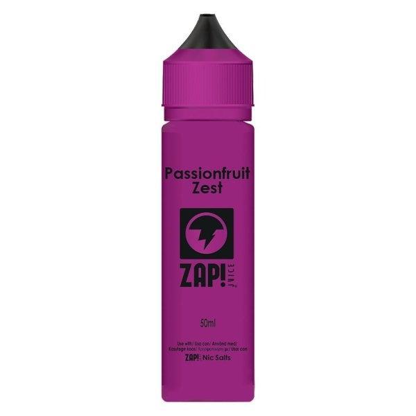 น้ำยาบุหรี่ไฟฟ้า Passionfruit Zest 3mg 60ml BY ZAP JUICE! UK