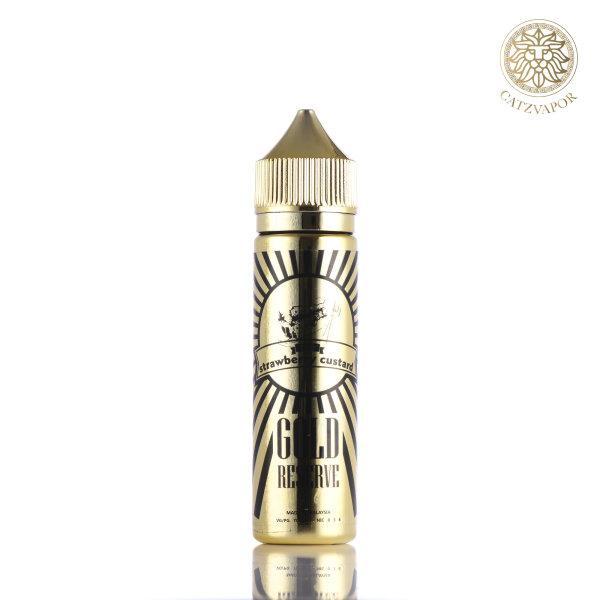 น้ำยาบุหรี่ไฟฟ้า Gold Strawberry Custard 3mg 60ml