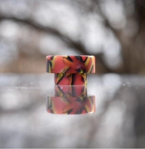 Standard Drip Tips Tiger Fire Swirl 810 Comp Lyfe