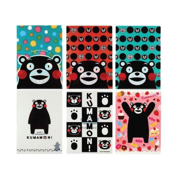 KUMAMON Clear File A4 | แฟ้ม A4