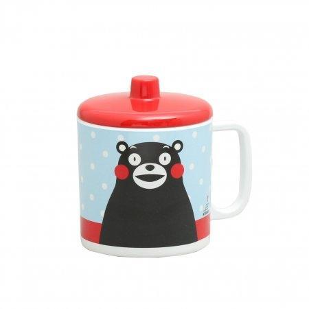 KUMAMON Cup with Lid | แก้วน้ำมีหู พร้อมฝาปิด