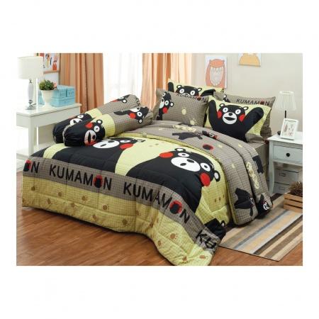 ผ้าห่มนวม ผ้าคอตตอน 100% ขนาด 90*100 นิ้ว