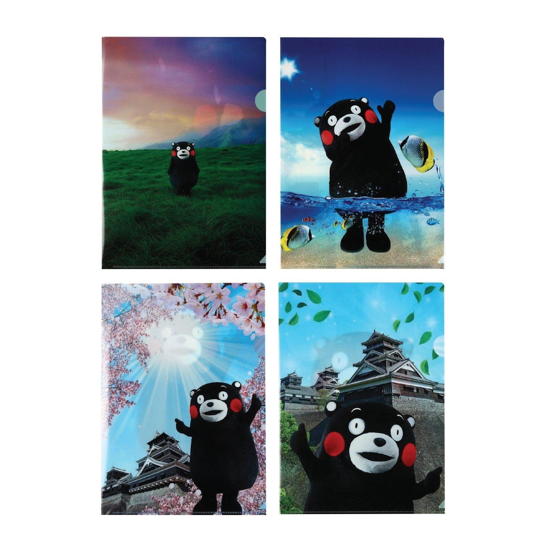 KUMAMON Photo Clear File A4 | แฟ้ม A4 รุ่นภาพถ่าย