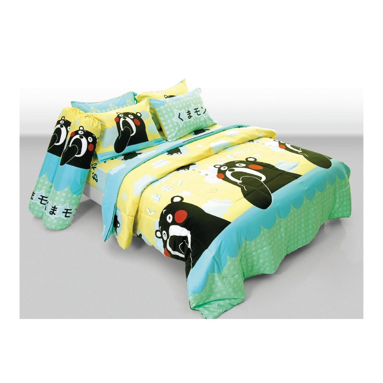 ชุดผ้าปูที่นอน ผ้าไมโครไฟเบอร์ ขนาด 5 ฟุต และ 6 ฟุต