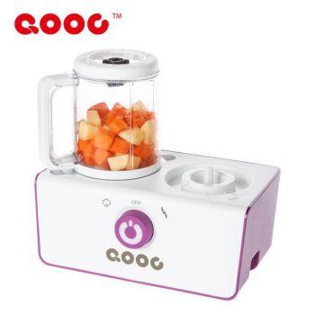 QOOC รุ่น 4in1 เครื่องนึ่งและปั่นอาหารสำหรับเด็กและทารก