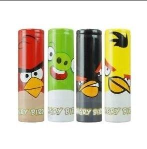 18650 battery Wraps Angry Birds