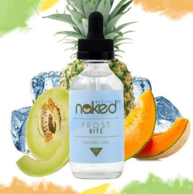 Naked 100 Menthol 60ml Nic 3mg Frost Bite
