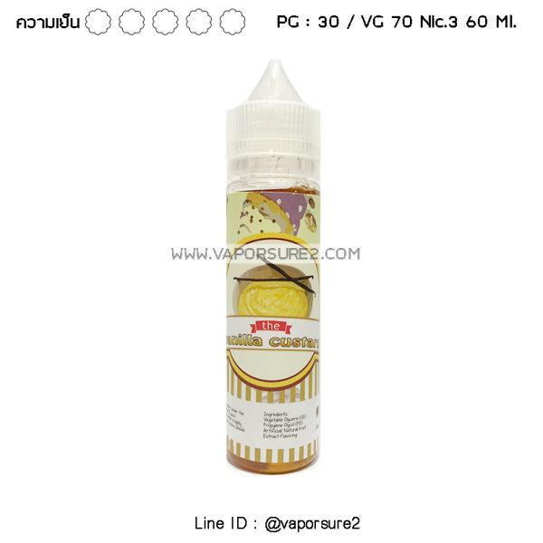 ไม่เย็น - Vanilla Custard Nic.3 30PG/70VG 60 Ml.
