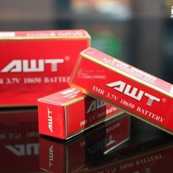 ถ่านแดง AWT IMR 3.7 v 18650 3000mAH 40A