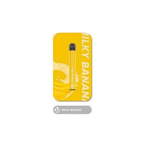 Vaplucky DJ  - Milky Banana Disposable Nic 2% 1500Puffs