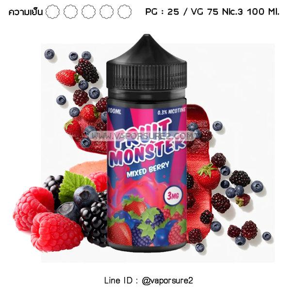 Fruit Monster Mixed Berry Nic.3 100ml