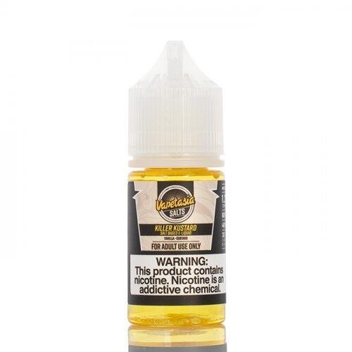 Salt Nic - Killer Kustard Vanilla Kustard Nic.48 40PG/60VG 30 Ml.