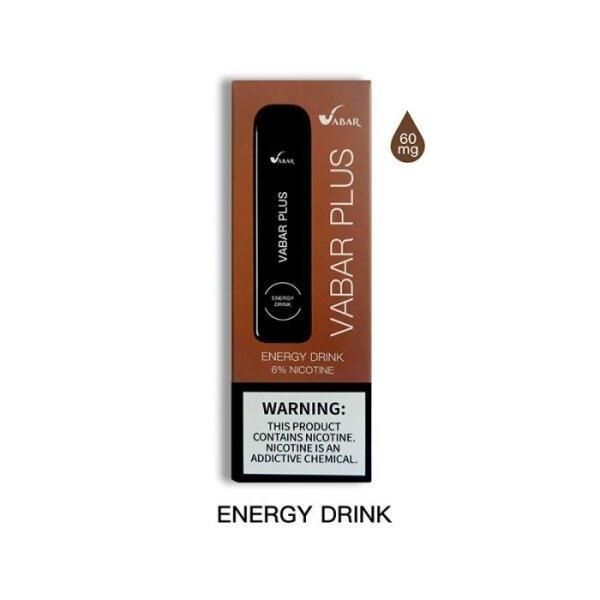 Vabar Plus - Energy Drink Disposable Nic 5% 800Puffs