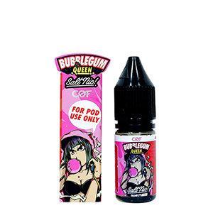Salt Nic - Bubblegum Queen Strawberry Nic.25 10 Ml. PG60/VG40