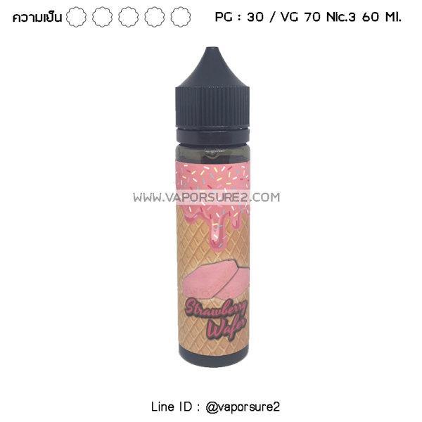 Strawberry Wafer Nic.3 30PG/70VG 60 Ml.