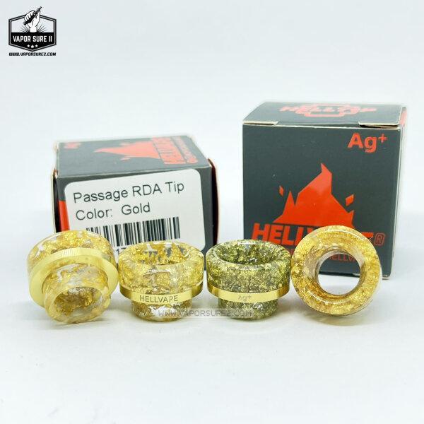 HELLVAPE DRIP TIP 810 แท้ Color Gold