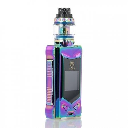 SNOWWOLF MFENG 200W TC STARTER KIT Limited Edition Color Full Rainbow