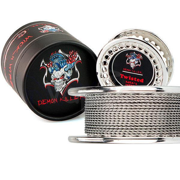 ลวด Demon Killer Twisted Wire (ม้วน) ( 24GA x 2 )