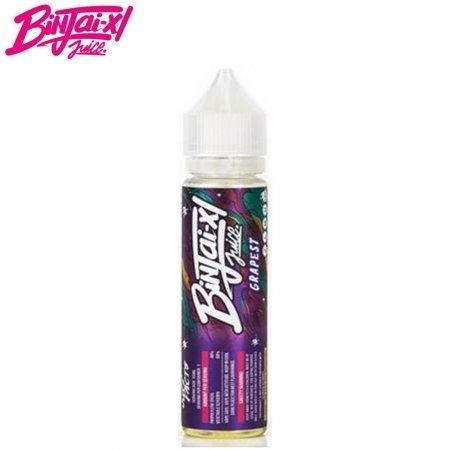 Binjai-X1 juice Grapest 55ml Nic3