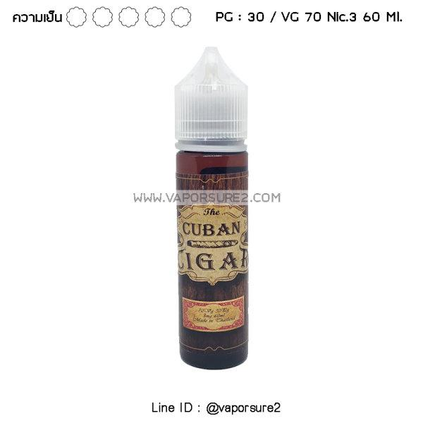The Cuban Cigar Nic.3 60ml VG70/PG30