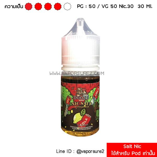 Salt Nic - Dooze Salt Cola Lemon 30 Ml. Nic 30 Mg
