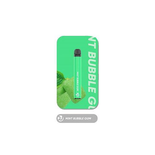 Vaplucky DJ  - Mint BubbleGum Disposable Nic 2% 1500Puffs