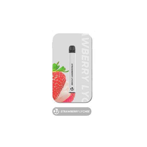 Vaplucky DJ  - Strawberry Lychee Disposable Nic 2% 1500Puffs