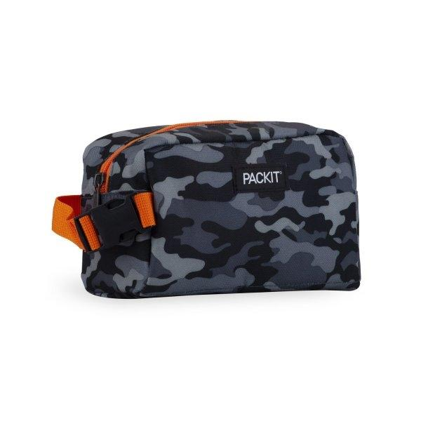 Snack Box Cooler - Charcoal Camo