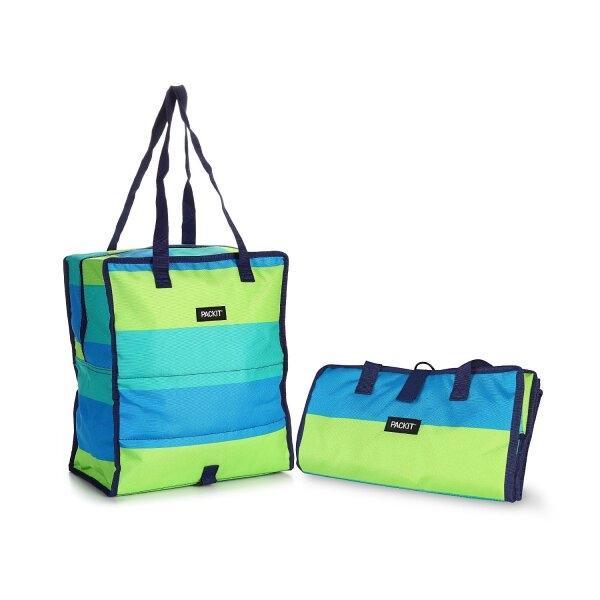 กระเป๋าเก็บความเย็น Grocery Cooler - Fresh Stripe