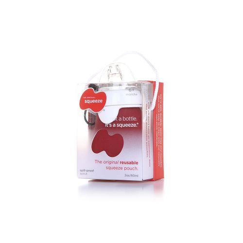 Squeeze 2 OZ SpillProof - RED