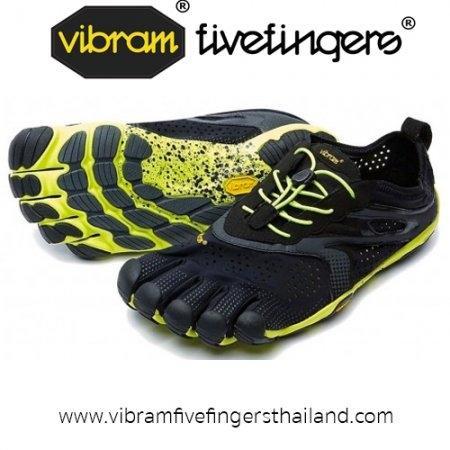 V-Run : Men : Black / Yellow : Size 40 - 44