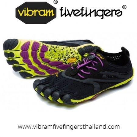 V-Run : Women : Black / Yellow / Purple : Size 36 - 40