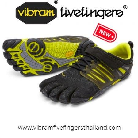 V-Train : Men : Black / Green : Size 40-45