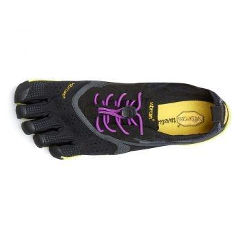 V-Run : Women : Black / Yellow / Purple : Size 36 - 40
