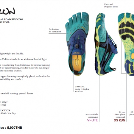V-Run : Women : Teal Navy : Size 36-40