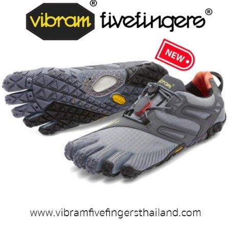 V-Trail : Women : Grey / Black / Orange  : Size 36-40
