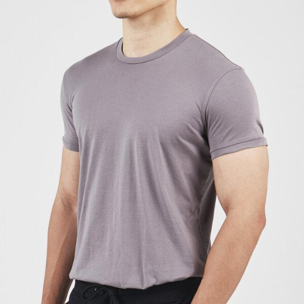 Round Neck T-shirt: Grey