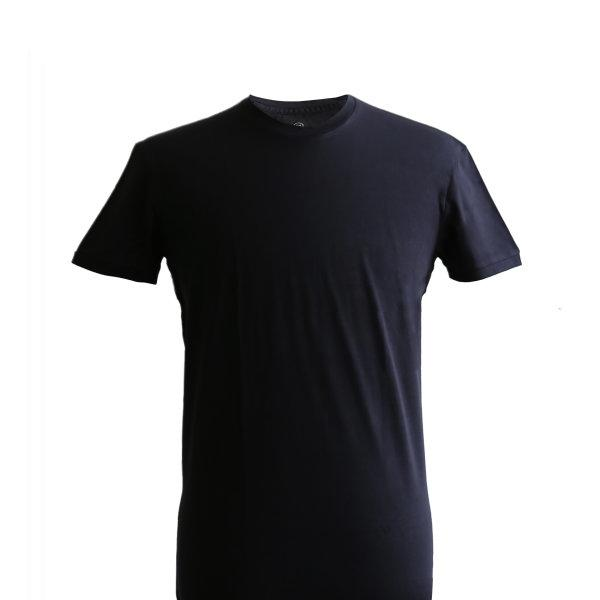 Round Neck T-shirt: Black