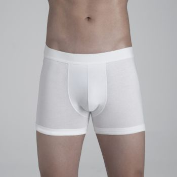 Boxer Brief Underwear: White