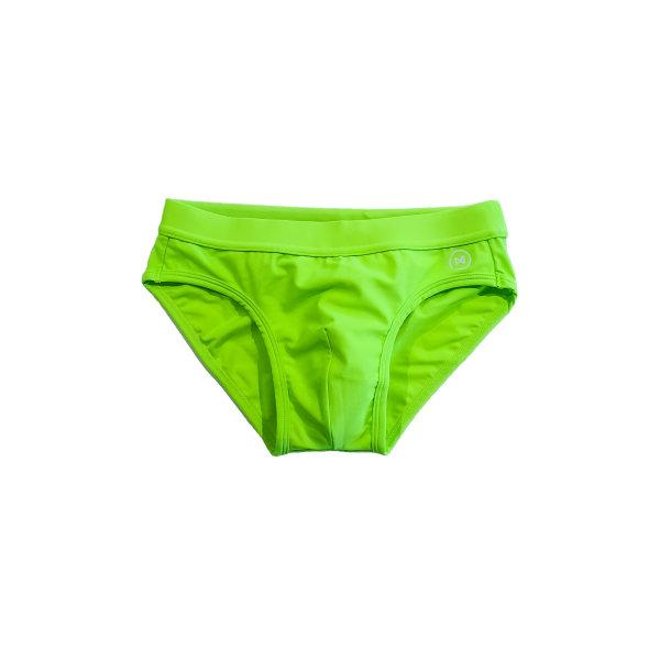Swim Briefs: Neon Green