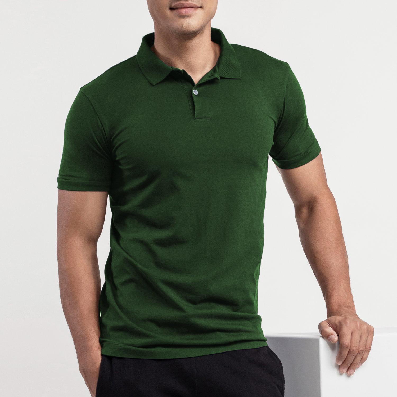 Polo T-shirt: Green